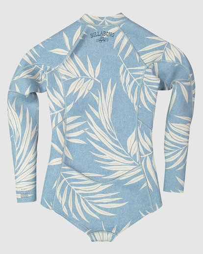 1 Toddler Salty Dayz - 2Mm Long Sleeve Springsuit Blue 5707502 Billabong