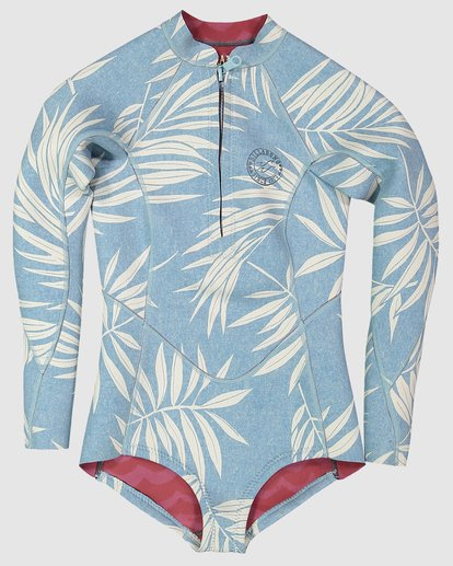 0 Toddler Salty Dayz - 2Mm Long Sleeve Springsuit Blue 5707502 Billabong