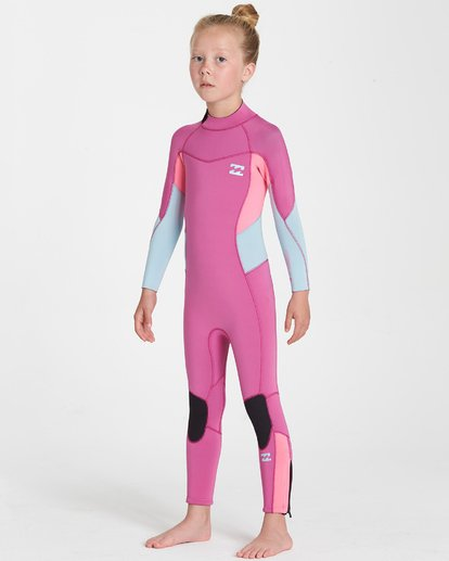 1 302 Toddler Synergy Flatlock Bz Full Pink 5707700 Billabong