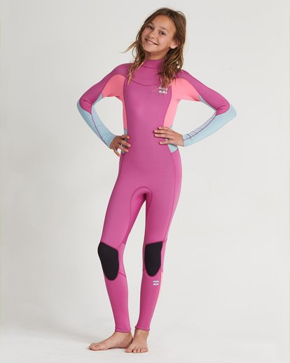 0 302 Teen Furnace Synergy Bz Gbs Full Suit Pink 5707810 Billabong