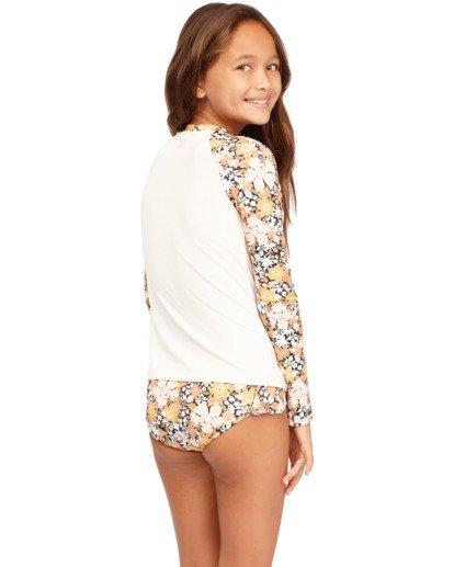2 Girls 6-14 Sweet Dreams Rash Vest Grey 5713005 Billabong
