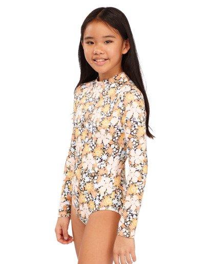 1 Girls 6-14 Sweet Dreams One Piece Bodysuit Grey 5713006 Billabong