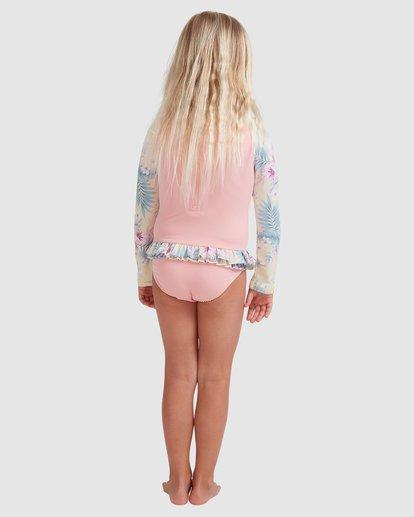 2 Girls 0-5 Island Dream One Piece Bodysuit Pink 5713008 Billabong