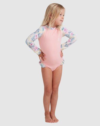 0 Girls 0-5 Island Dream One Piece Bodysuit Pink 5713008 Billabong