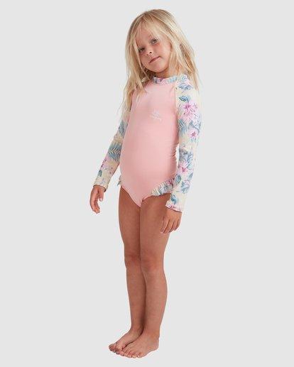 1 Girls 0-5 Island Dream One Piece Bodysuit Pink 5713008 Billabong