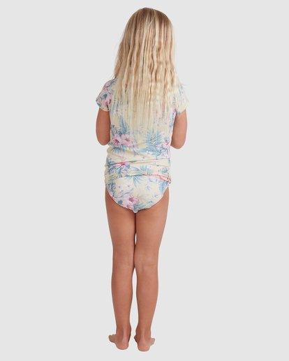 2 Girls 0-5 Island Dream Rash Vest Set Yellow 5713010 Billabong
