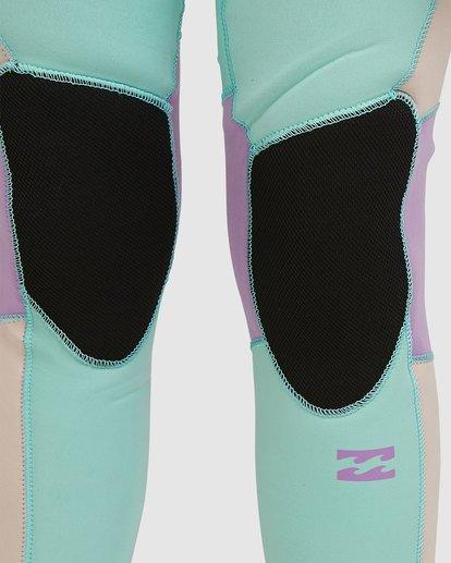 3 Teen 3/2 Synergy Back Zip Gbs Fullsuit Blue 5717810 Billabong