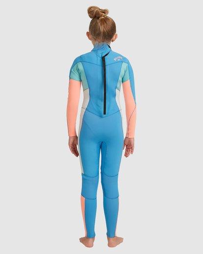 2 Teen 3/2 Synergy Back Zip Gbs Fullsuit Blue 5717810 Billabong