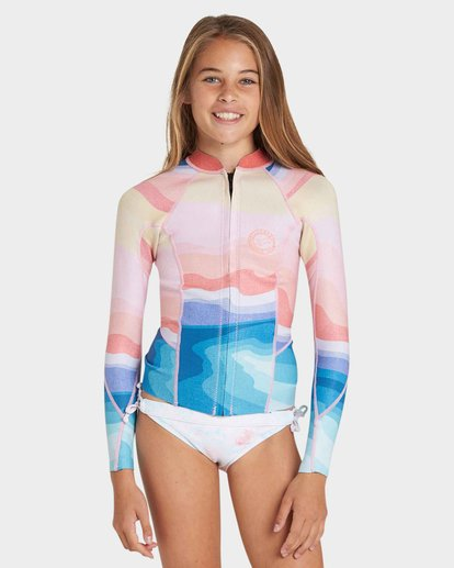 0 TEEN PEEKY LS 1MM JACKET Blue 5781120 Billabong