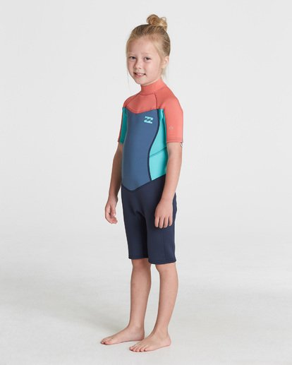0 GIRLS 202 SYNERGY SPRINGSUIT Blue 5781401 Billabong