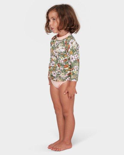 1 GIRLS FIORE RASHGUARD SET Green 5782007 Billabong