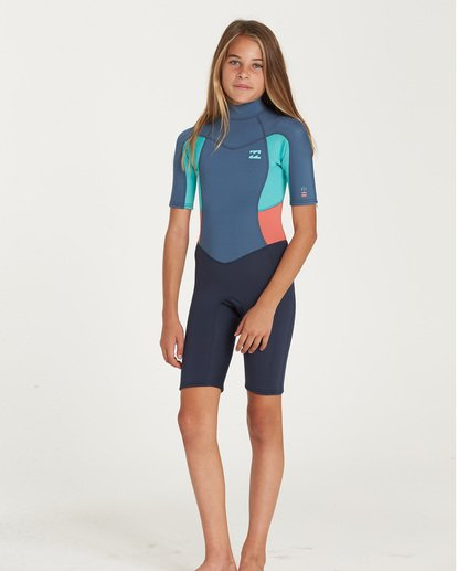 0 TEEN 202 SYNERGY SPRINGSUIT Grey 5783400 Billabong