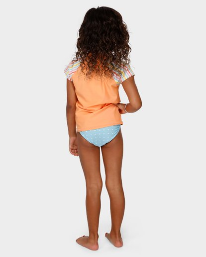 2 GIRLS TUTTI FRUITTI RASH GUARD Yellow 5791001 Billabong