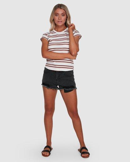 4 Dare To Dream Short Sleeve Tee Beige 6503003 Billabong