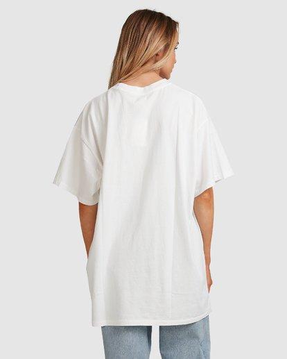 3 Hooked On Tropics Short Sleeve Tee White 6503027 Billabong