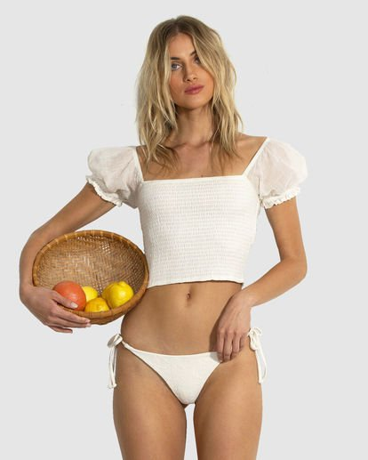 1 Honeysuckle Top White 6503150 Billabong