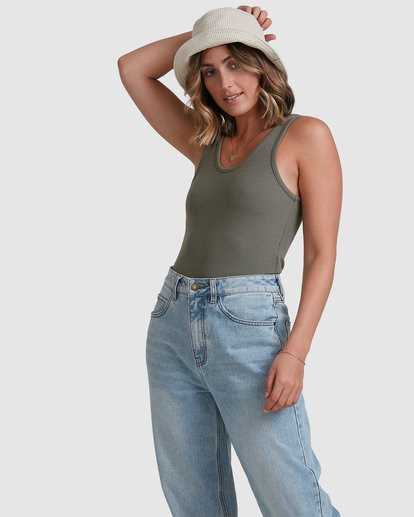 0 Everyday Top Green 6503174 Billabong