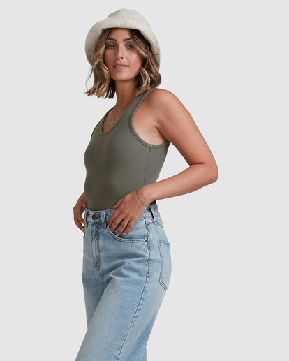 2 Everyday Top Green 6503174 Billabong
