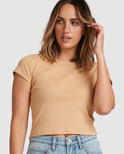2 Baby Tee Brown 6503176 Billabong