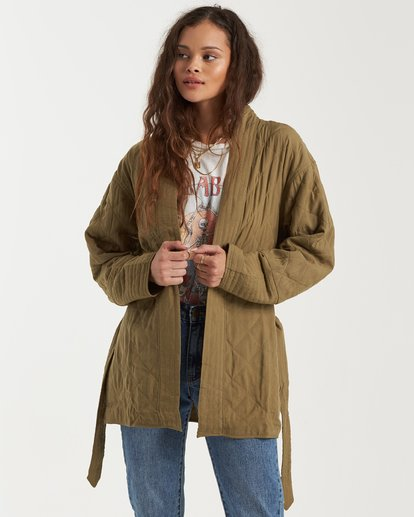 1 Piece Out Jacket Green 6503260 Billabong