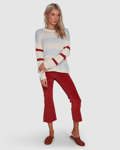 6 Lost Paradise Sweater White 6503291 Billabong