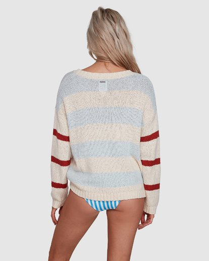 3 Lost Paradise Sweater White 6503291 Billabong