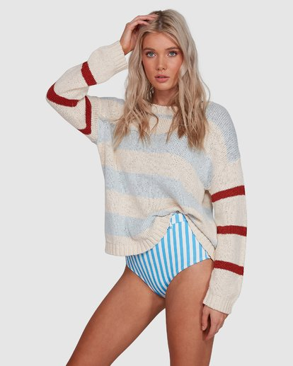 2 Lost Paradise Sweater White 6503291 Billabong