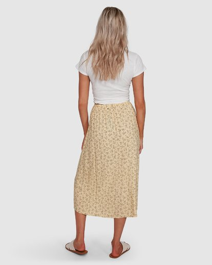3 Just Be Here Skirt Yellow 6503317 Billabong