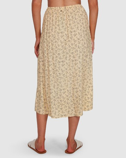 5 Just Be Here Skirt Yellow 6503317 Billabong