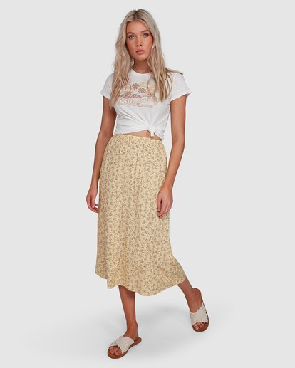 1 Just Be Here Skirt Yellow 6503317 Billabong