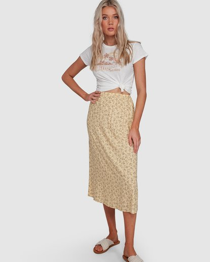 0 Just Be Here Skirt Yellow 6503317 Billabong