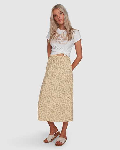 2 Just Be Here Skirt Yellow 6503317 Billabong