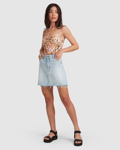 10 Charlie Skirt Blue 6503320 Billabong