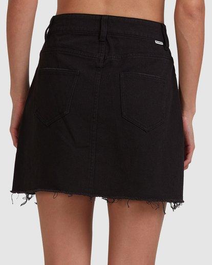 4 Charlie Skirt Black 6503320 Billabong