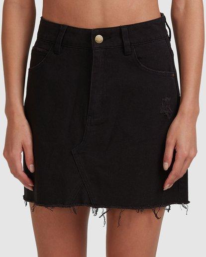 3 Charlie Skirt Black 6503320 Billabong