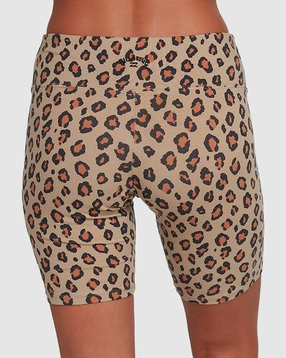 3 Biker Babe Shorts Brown 6503364 Billabong