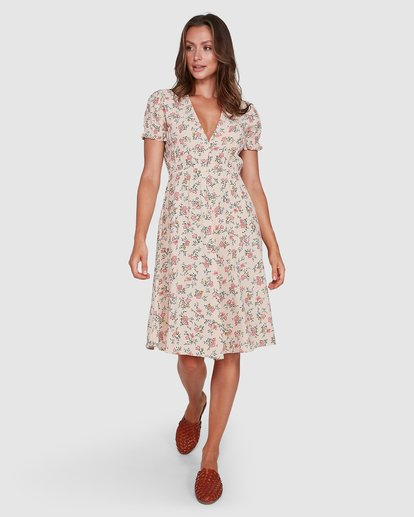 10 Day Dreamer Midi Dress Pink 6503461 Billabong