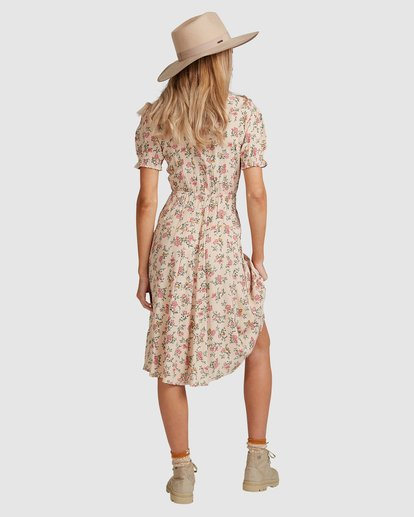 3 Day Dreamer Midi Dress Pink 6503461 Billabong
