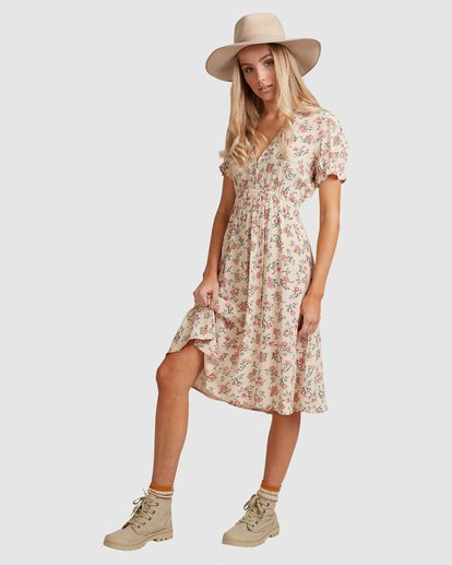 2 Day Dreamer Midi Dress Pink 6503461 Billabong
