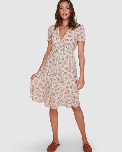 5 Day Dreamer Midi Dress Pink 6503461 Billabong