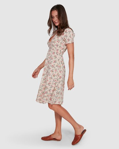 7 Day Dreamer Midi Dress Pink 6503461 Billabong