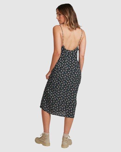 3 Bloom Midi Dress Black 6503463 Billabong