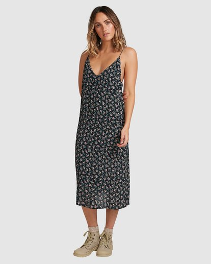 1 Bloom Midi Dress Black 6503463 Billabong