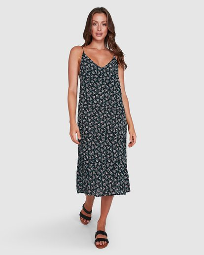1 Bloom Midi Dress Black 6503463 Billabong