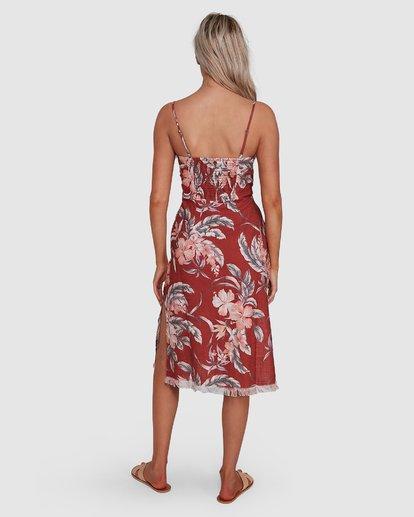 4 Dahlia Midi Dress Brown 6503464 Billabong