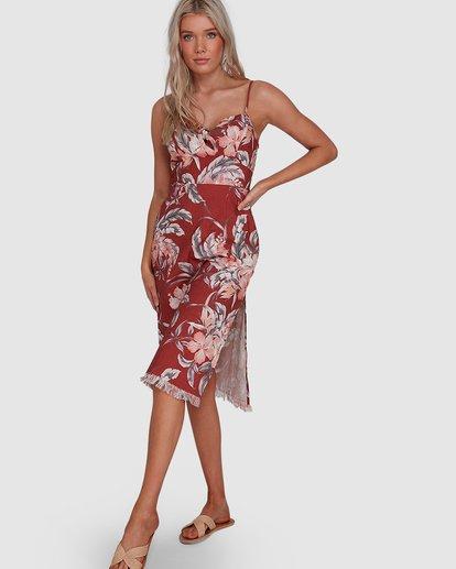 1 Dahlia Midi Dress Brown 6503464 Billabong