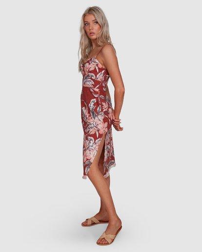 3 Dahlia Midi Dress Brown 6503464 Billabong