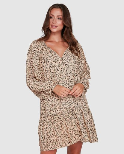 2 Charmer Dress Beige 6503467 Billabong