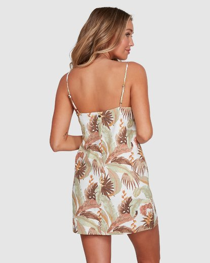 3 El Tropical Sunset Dress White 6503472 Billabong