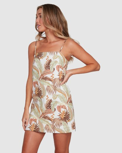 2 El Tropical Sunset Dress White 6503472 Billabong